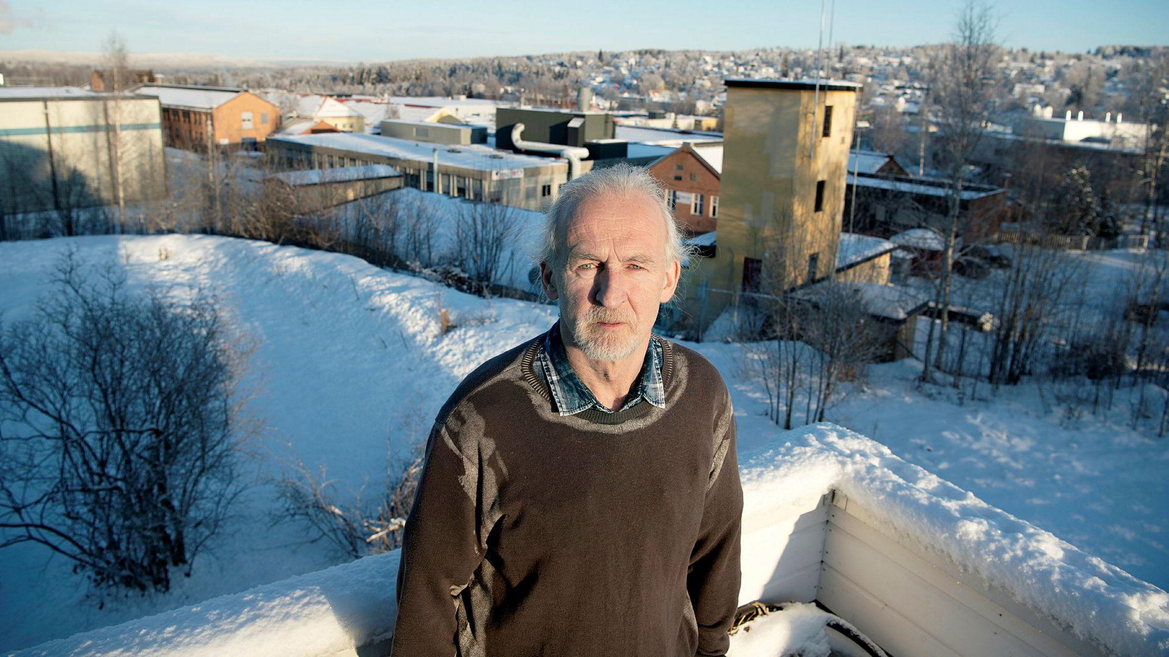 – For første gang i mitt liv er jeg blitt permittert, sier Bjørn Frøsaker.