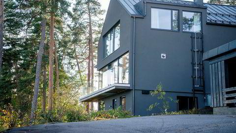 Avfallsmillionær Jonny Enger har nå kjøpt dette huset i Ullernveien på Bestum for 36 millioner kroner.