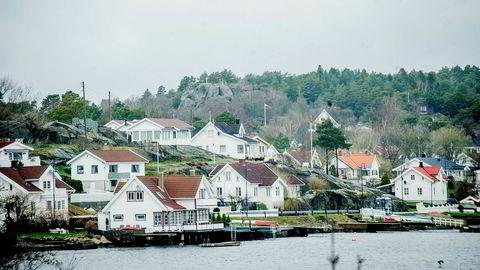 Færder kommune, som blant annet inkluderer Tjøme, har desidert den dyreste snittprisen på fritidsboliger. Der ligger snittprisen nå på 7,8 millioner kroner etter sommerens voldsomme prisstigning.