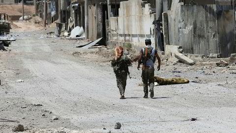 Eksperter frykter IS vil bruke ørkenen som base i geriljakrigføring.