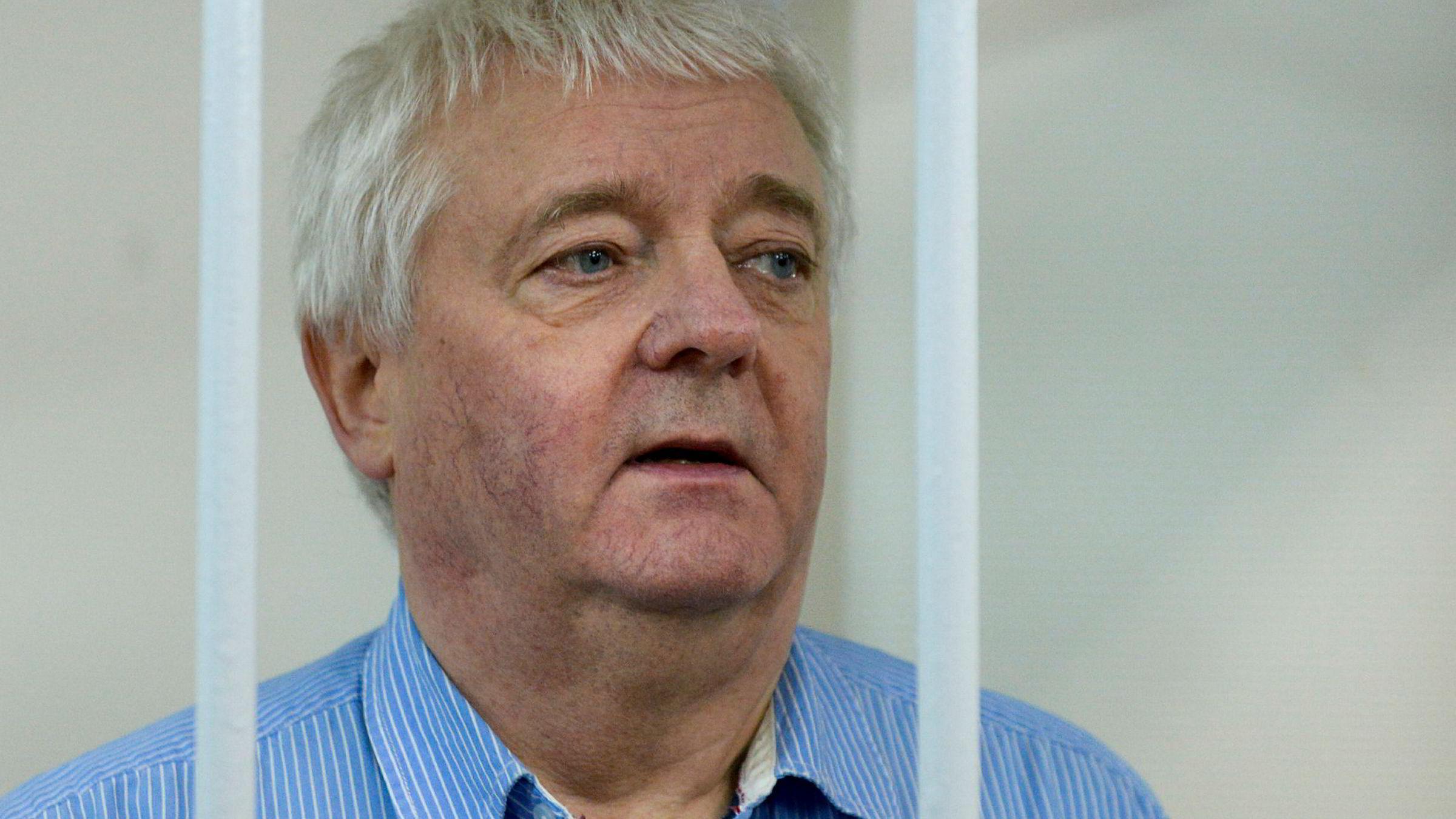 Frode Berg sitter fengslet i Russland mistenkt for spionasje.