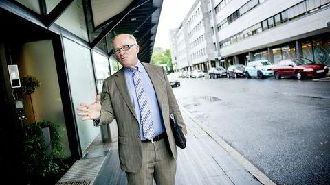 Michael Binnion er sjef i det kanadiske oljeselskapet Questerre. Han hadde store papirtap på selskapets kursfall torsdag.