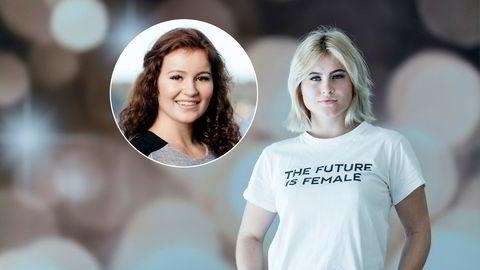 Alexandra (innfelt) og Katharina Andresen opprettet i fjor egne aksjeselskaper, etter å ha fått store deler av Ferd-formuen overført til seg.