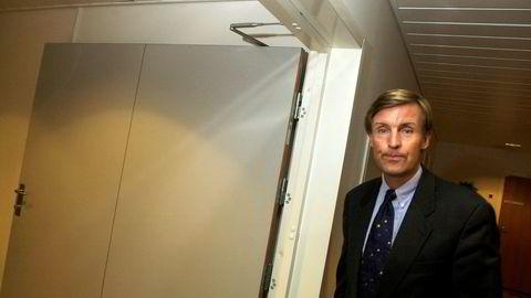 Investor Øyvin Brøymer og familien har tilbakelagt et rekordår etter solid kursoppgang. Bildet er fra 2001.