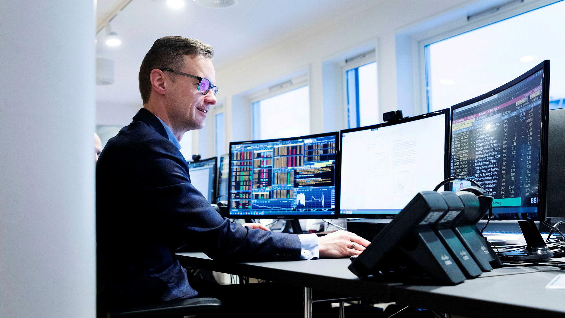 Sjeføkonom Bjørn-Roger Wilhelmsen i Nordkinn Asset Management.