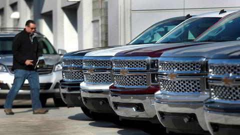 General Motors høstet kritikk fra Trump for å produsere biler i Mexico som skal selges i USA.