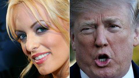Pornostjernen Stormy Daniels, som egentlig heter Stephanie Clifford, saksøker nå Donald Trumps advokat.