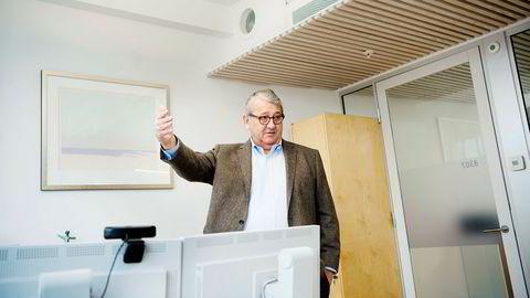 Riksrevisor Per-Kristian Foss skrev 18. april. om ansettelsesprosessen som til slutt ble terminert. Foto: