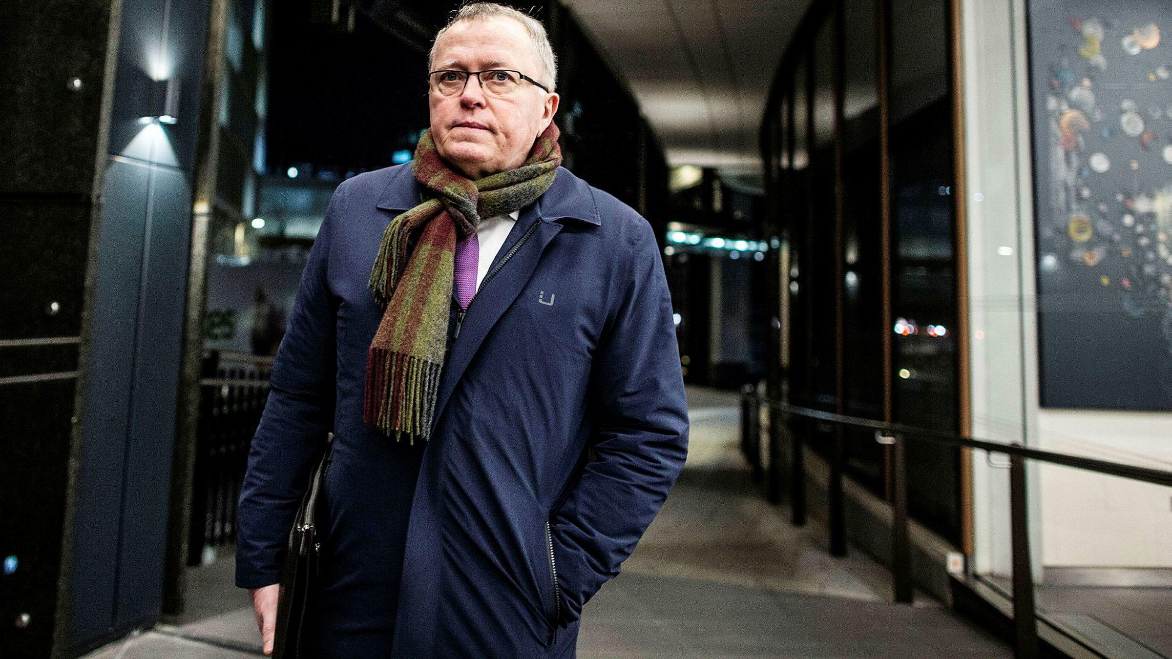 Equinor-sjef Eldar Sætre på kapitalmarkedsdagen i London forrige uke.