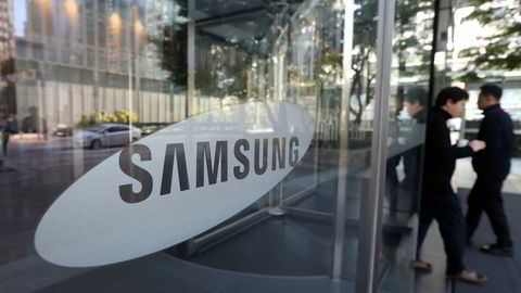 Sørkoreanske Samsung presenterte tirsdag et resultat for tredje kvartal på 9,8 milliarder dollar.