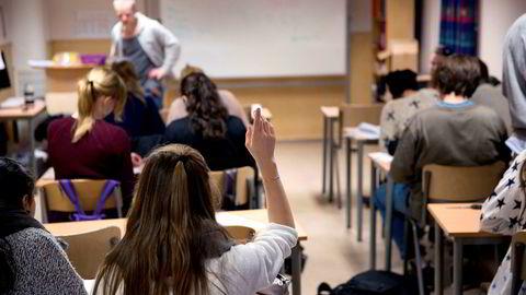 Toppoppslaget i NRK Dagsnytt mandag morgen var nyheten om at rapporten om radikal nedgang i fraværet i videregående skole kanskje ikke stemmer likevel.