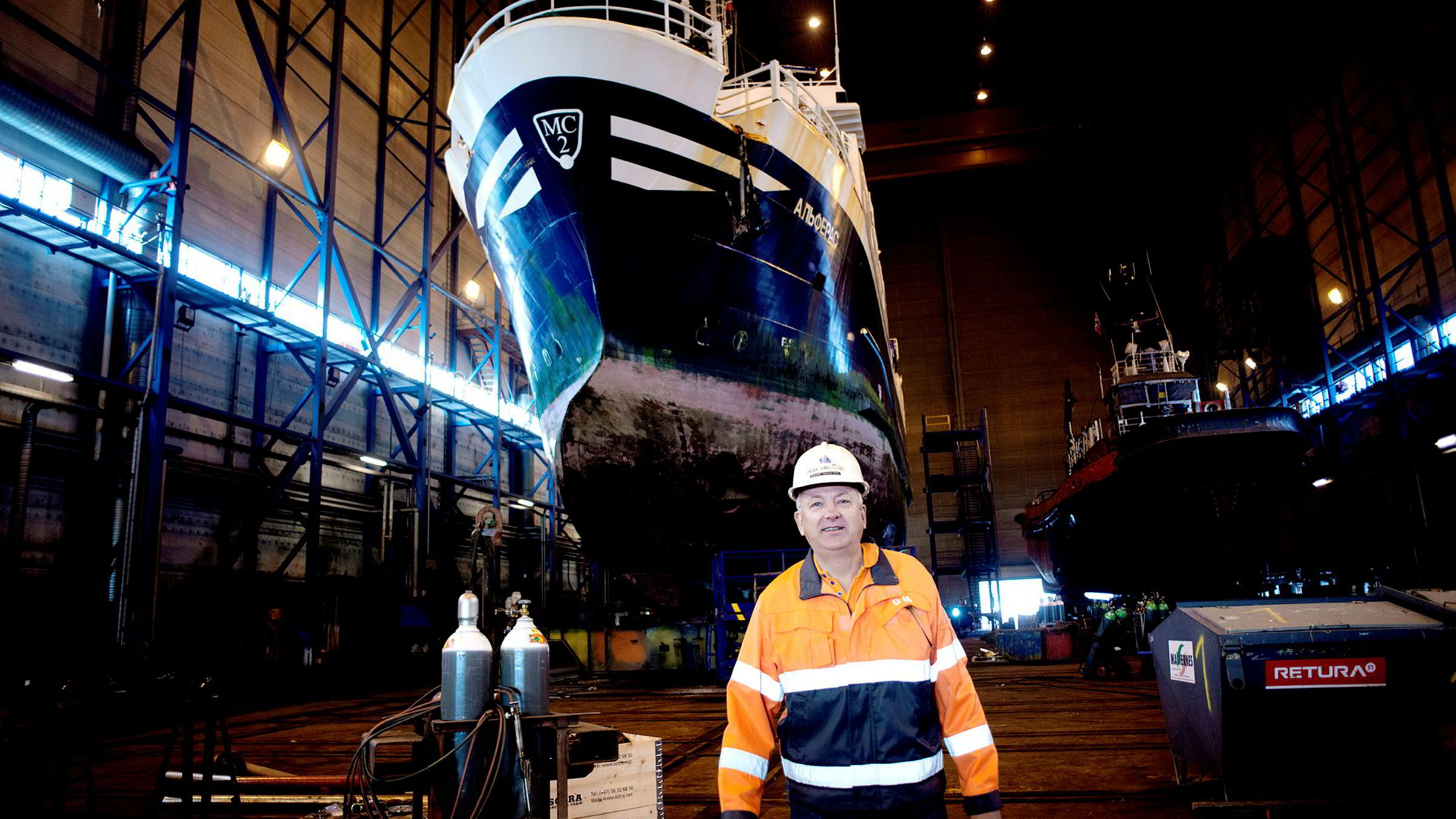 Greger Mannsverk, administrerende direktør i Kimek as.