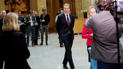 Utenriksminister Børge Brende (H) har ansvaret for et bistandsbudsjett som bare blir større og større.