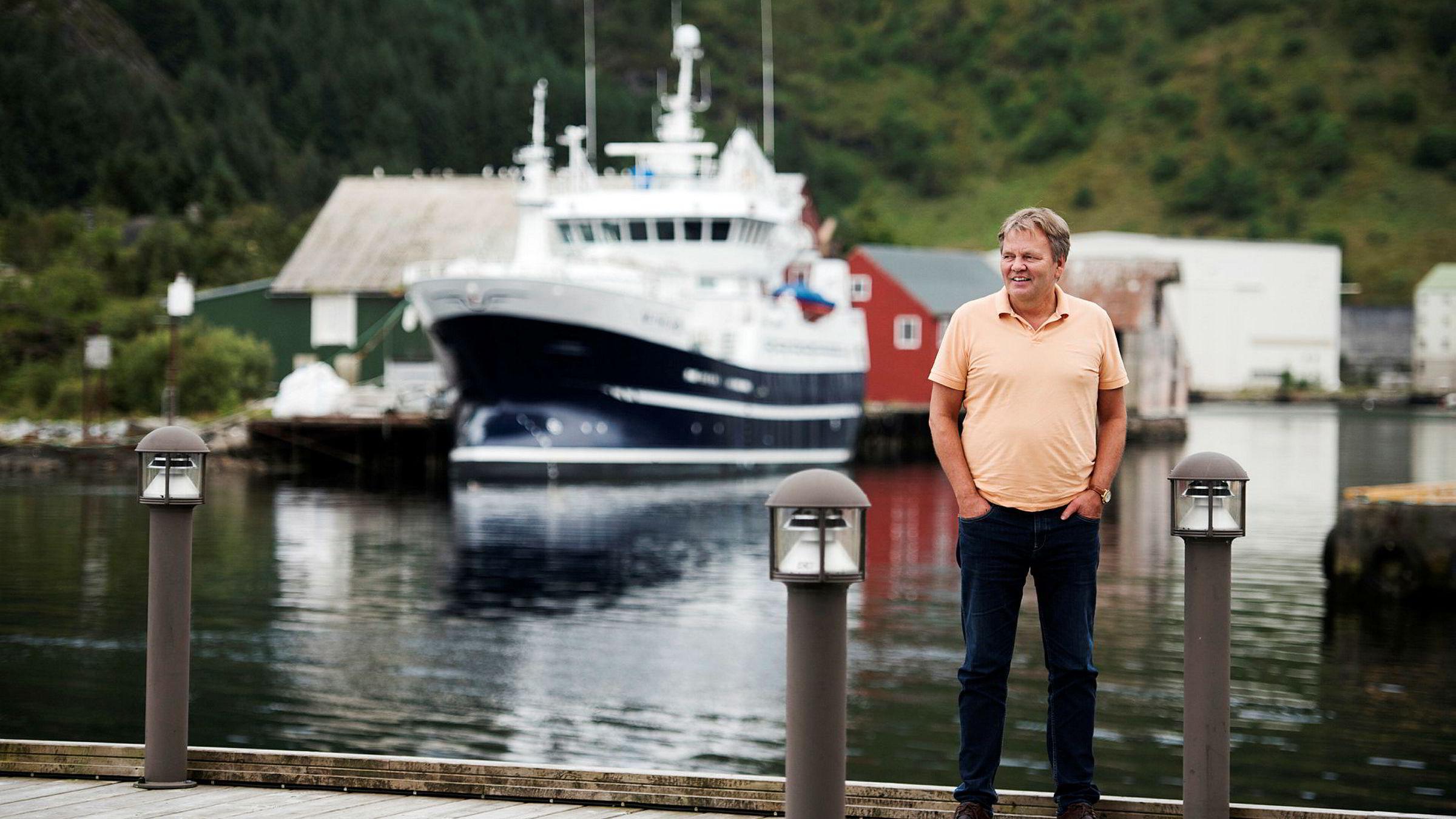 Stig Remøy, administrerende direktør i Olympic Shipping. Foto: Per Ståle Bugjerde