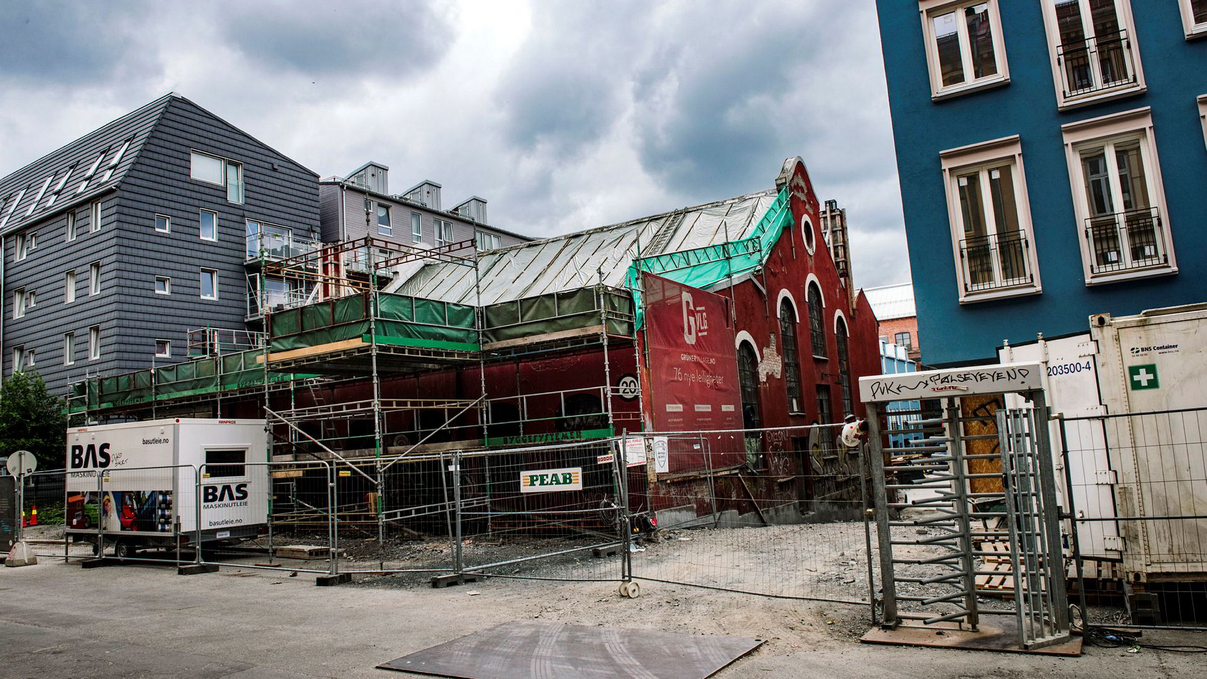 «Grüner Village» er et av boligprosjektene til Sandvold Holding gjennom selskapet Naturbetong.