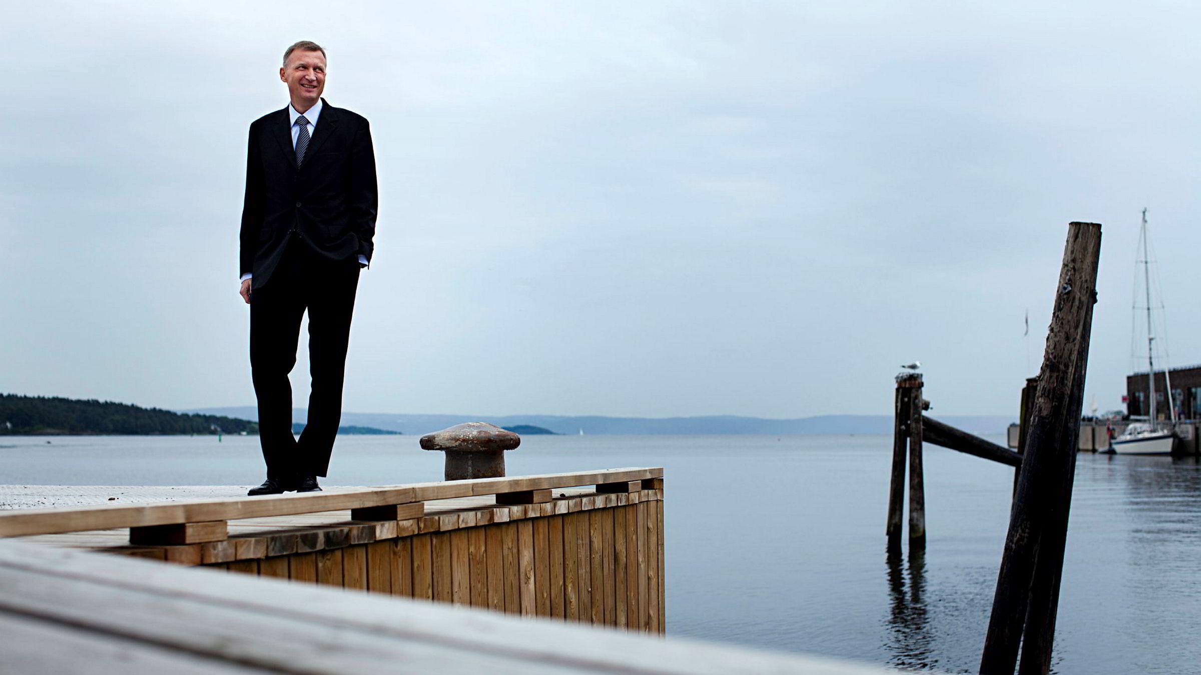 Konsernsjef Jon Erik Reinhardsen i Petroleum Geo-Services