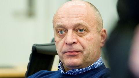 Flere personer fra Gjermund Cappelens gamle hasjnettverk skal forklare seg i retten i dag. Bildet viser Cappelen i rettssalen under under første dag av rettssaken.