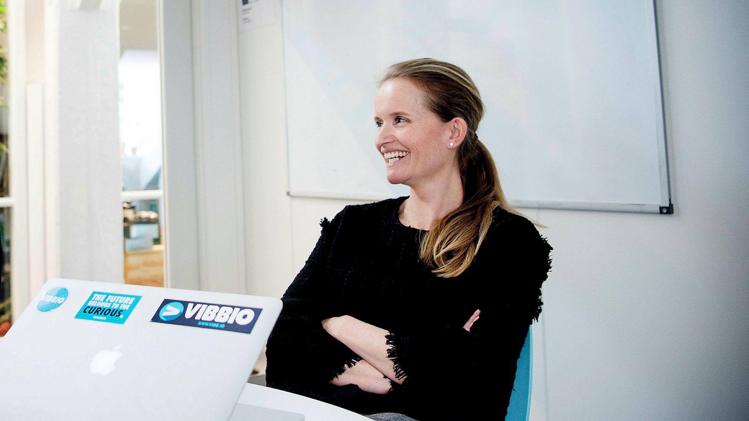 4944b2f3 Administrerende direktør i Vibbio, Marianne Bratt Ricketts, ville helst  vært på nachspiel med Elon