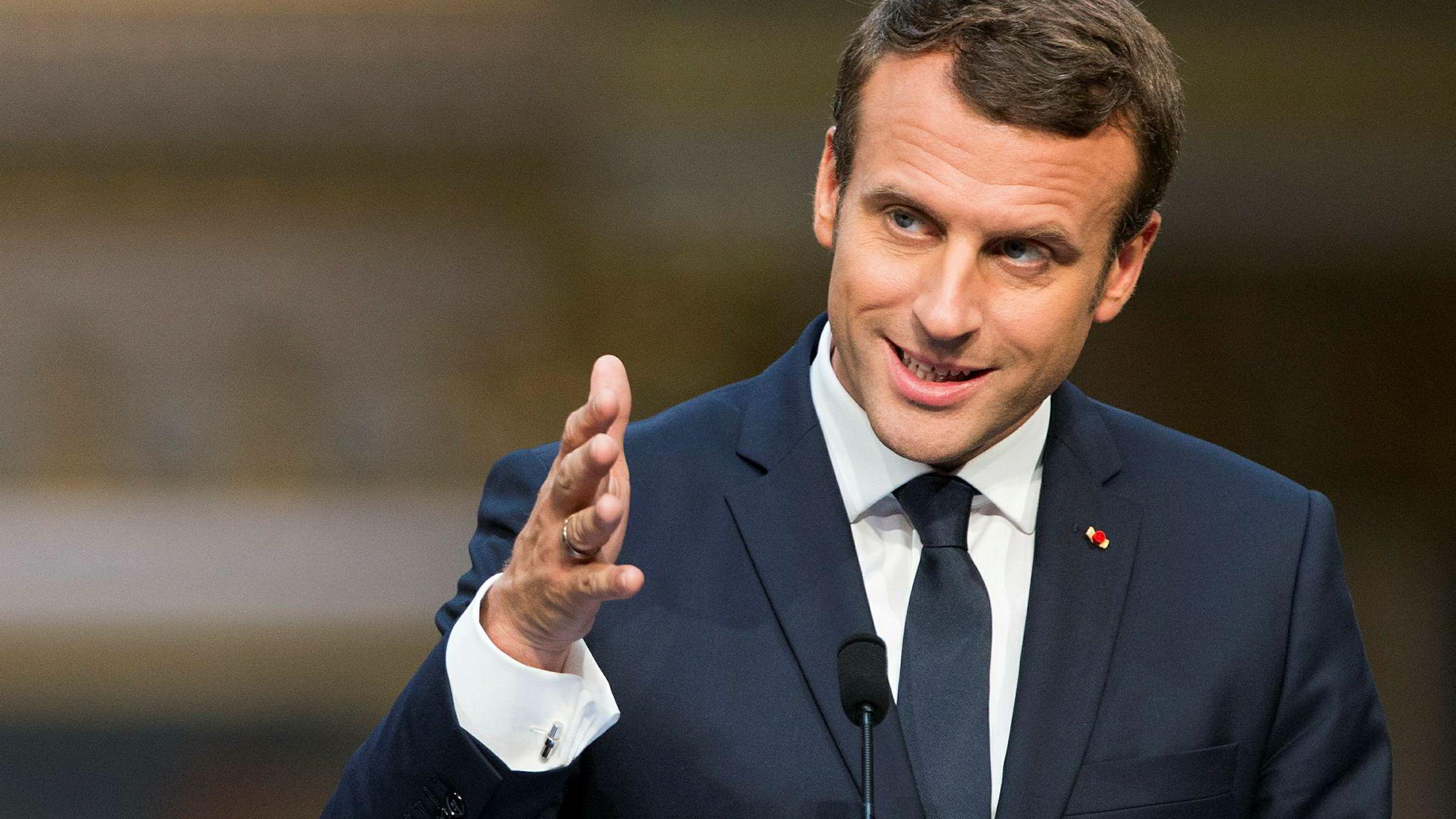 President Emmanuel Macrons parti Republikken på vei ligger an til solid flertall, men frammøtet er ventet å bli lavt.