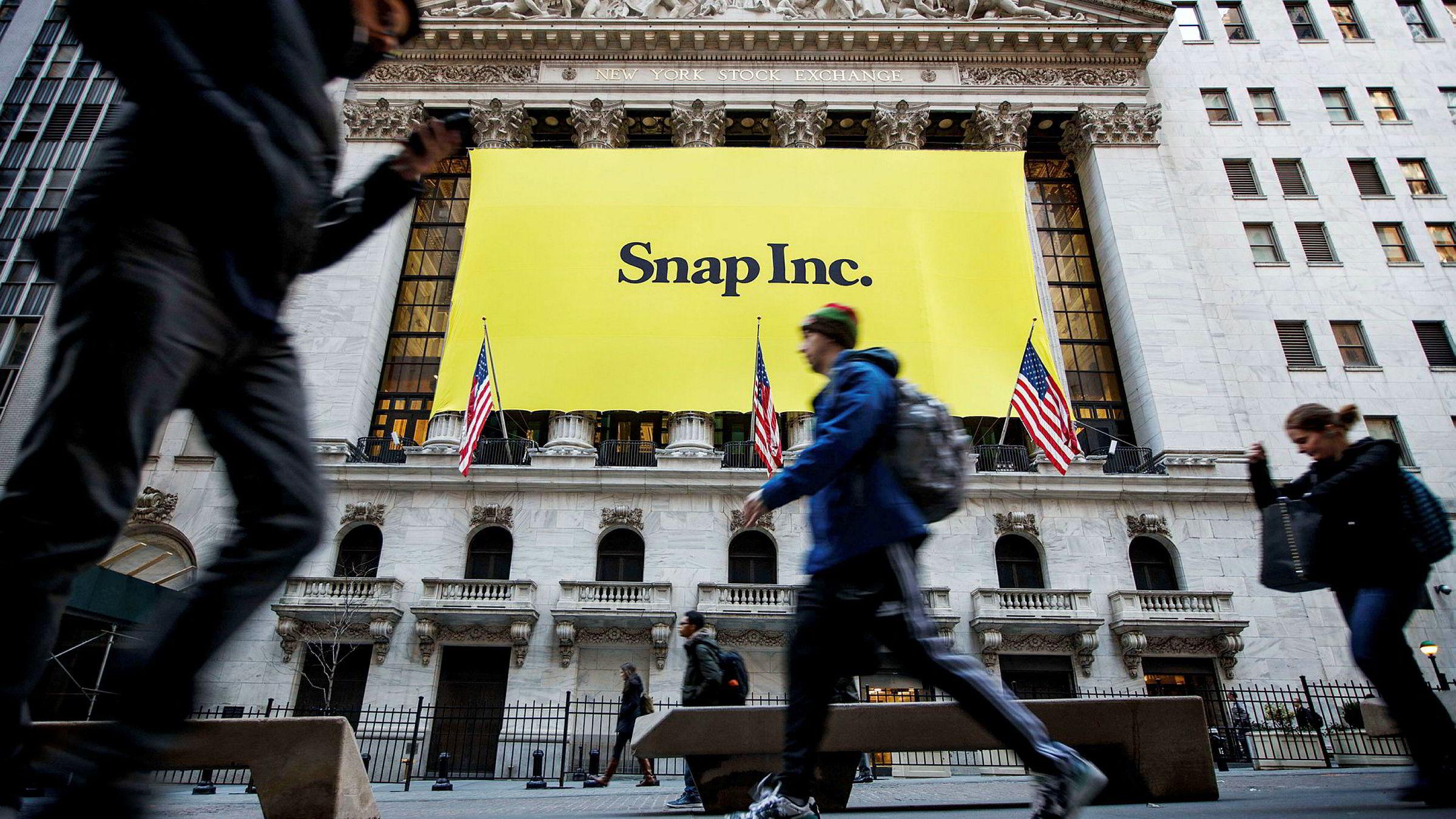 Børsnoteringen av Snapchat forrige uke har fått interesse fra investorer på begge sider av Atlanterhavet. Flere hundre nordmenn har kjøpt aksjer i selskapet.