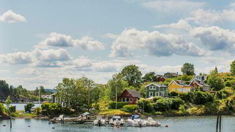 Nå er det lagt ut en hytte på Lindøya i Oslo der prisantydning ligger 50.000 kroner over rekorden satt i fjor sommer.