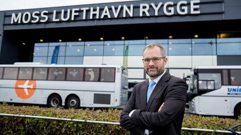 Knut R. Johannessen (daglig leder og initiativtager i selskapet Rygge Airport as).