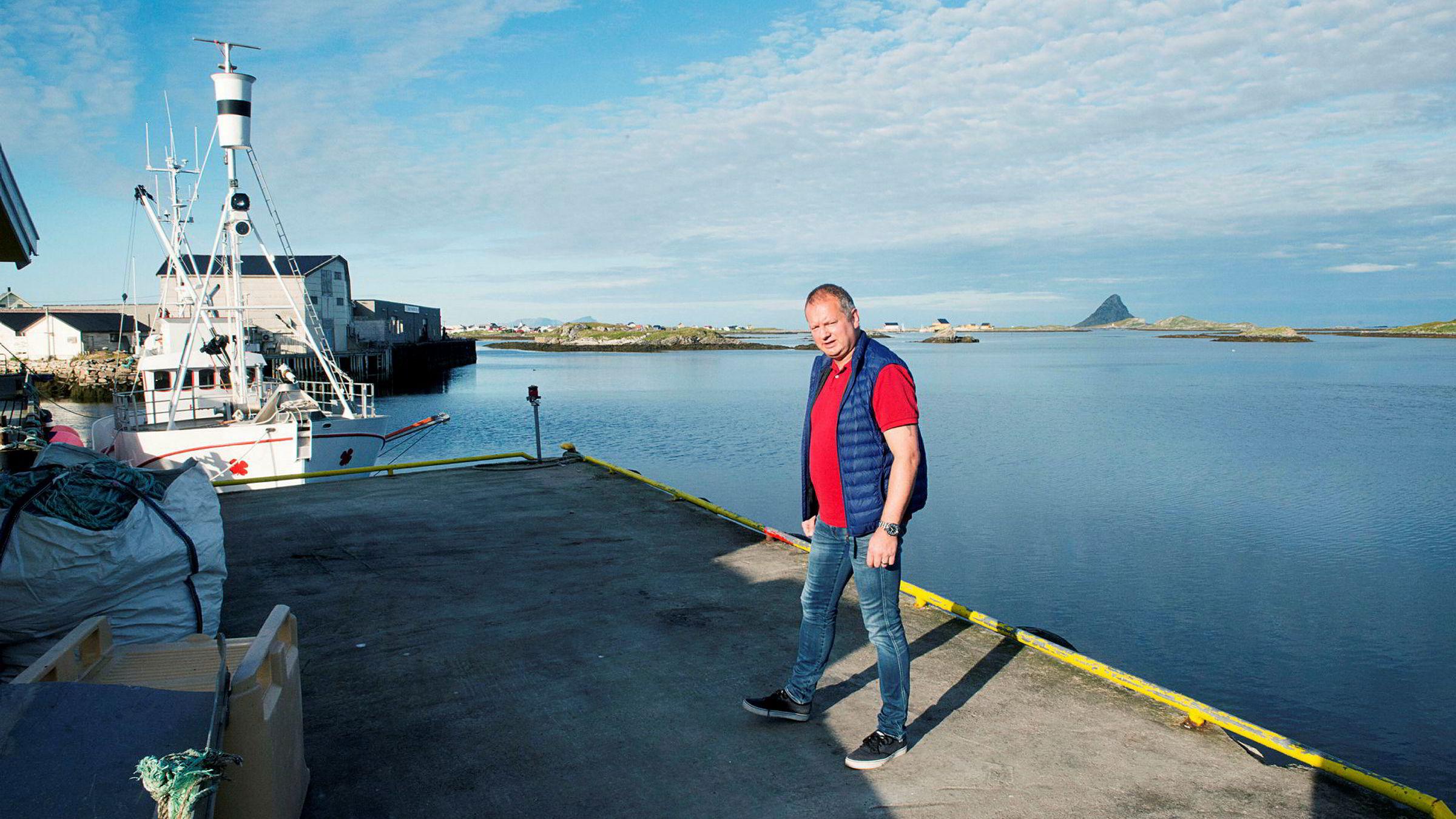 Gøran Greger er daglig leder i familiebedriften John Greger AS på Røst.