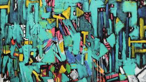 Action. I Lars Kristian Gulbrandsen-maleriet som Kunsthall Oslo nå viser, spraker 1980-tallets farger. Selv om han bodde på øya Hidra på sørlandskysten, fulgte han med i kunstutviklingen internasjonalt.