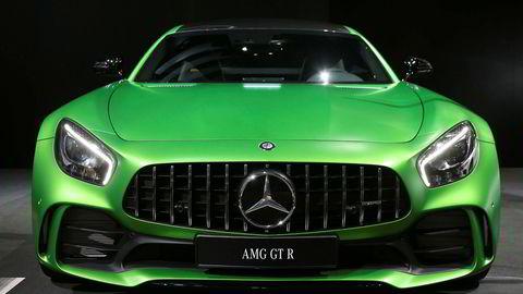 I Norge har Mercedes solgt 20 AMG GT-modeller. Blant annet av toppversjonen Mercedes-AMG GT R.