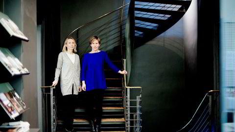 Utviklingssjef Solveig Dahl Grue Arkitektbedriftene (til venstre) og fagsjef Camilla Moneta i Norske arkitekters landsforbund (NAL) frykter en ny byggeforskrift vil gi helseskadelige boliger som øker de sosiale forskjellene.