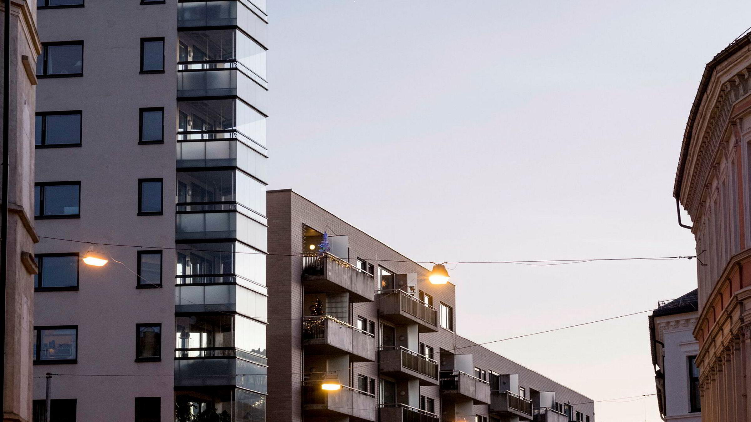 Det eneste som i dag er fordelaktig, er å kjøpe egen bolig og bo der selv, skriver artikkelforfatteren. Her boliger i Oslo.