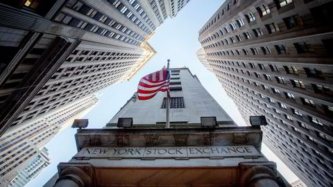Det var lite retning på aksjehandelen i New York fredag. Foto: Ørjan F. Ellingvåg ---