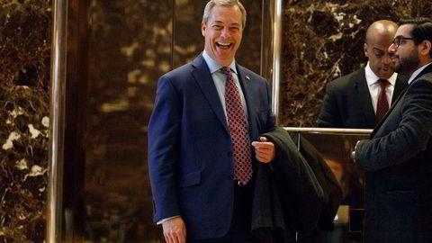 Nigel Farage, fungerende leder i det britiske uavhengighetspartiet Ukip.