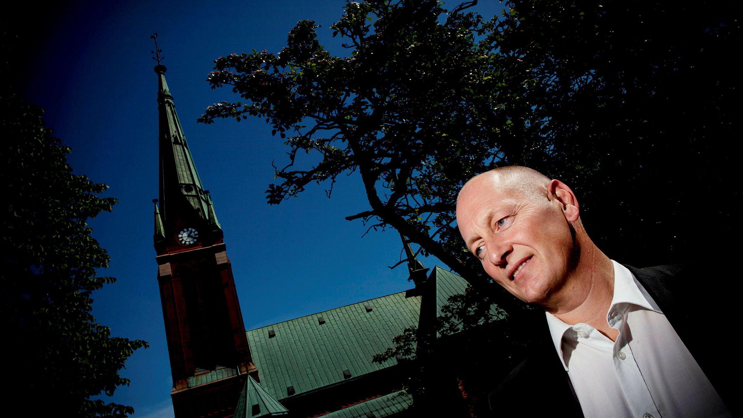 Administrerende direktør Geir Bergskaug, Sparebanken Sør.