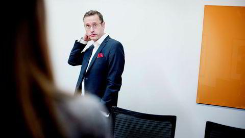 Administrerende direktør Snorre Storset i Nordea Norge mener boliglånsforskriftene har dempet boligmarkedet.