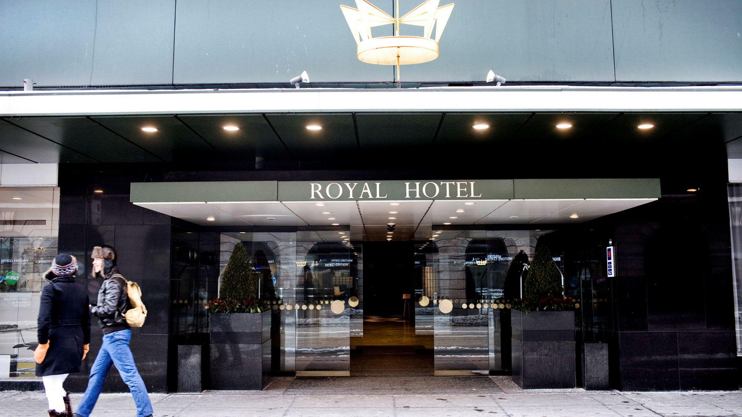 GULL. Wenaas-familien har på ti år tjent rundt 600 millioner kroner på de tre hotellene i København, blant dem landemerket Radisson Blu Royal Hotel.