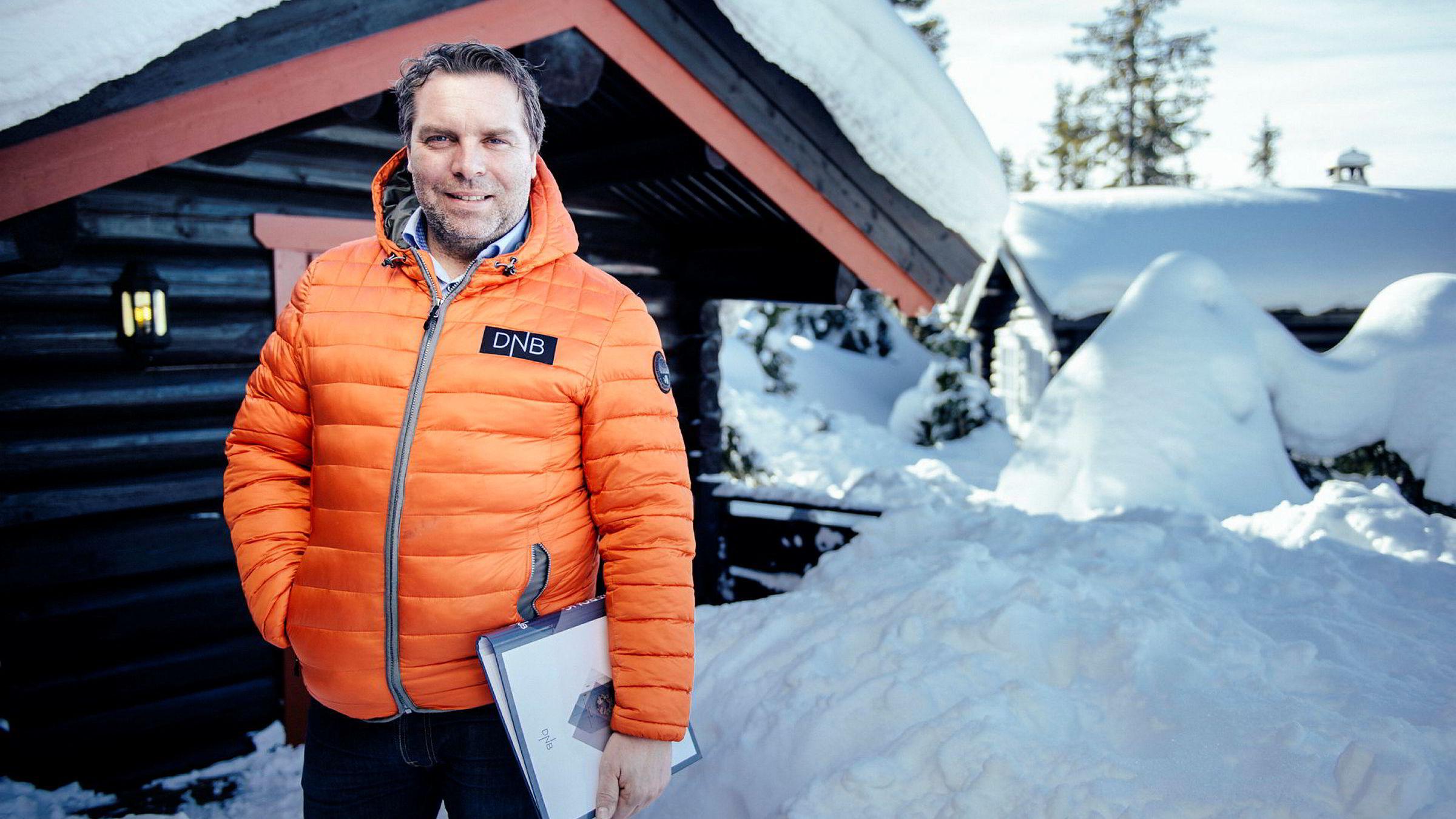 – Etter at folk har reiser hjem fra fjellet andre påskedag er det en del som finner ut at de likte seg så godt at de vil kjøpe noe, sier eiendomsmegler Stig H. Svartor i DNB Eiendomsmegling.