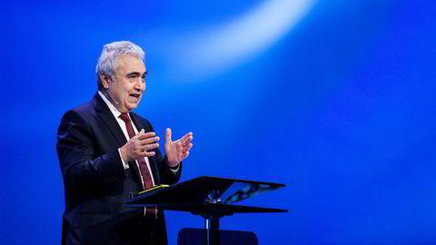 IEA og toppsjef Fatih Birol frykter en ny boom/bust-syklus i oljeindustrien. I dag la IEA frem sin årlige World Energy Outlook.
