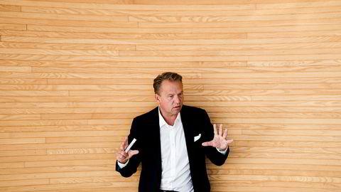 HitechVision-sjef Ole Ertvaag setter av 20 millioner kroner til utbytte.