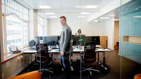 Fra et lite kontorlokale i Oslo sentrum skal administrerende direktør Christian Eek i Ekspressbank Norge forsøke å erobre forbrukslånsmarkedet. Det meste av nye kunder skal komme gjennom eksterne agenter.