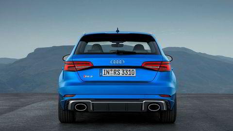 Med RS 3 skal Audi vise konkurrentene ryggen.