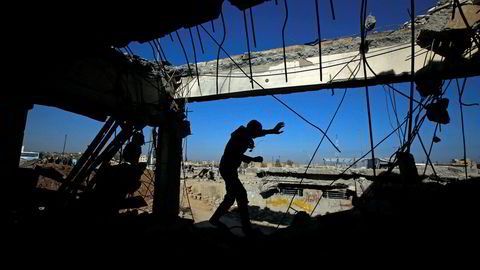 Kampene i Mosul har vært harde og det er store ødeleggelser i byen.