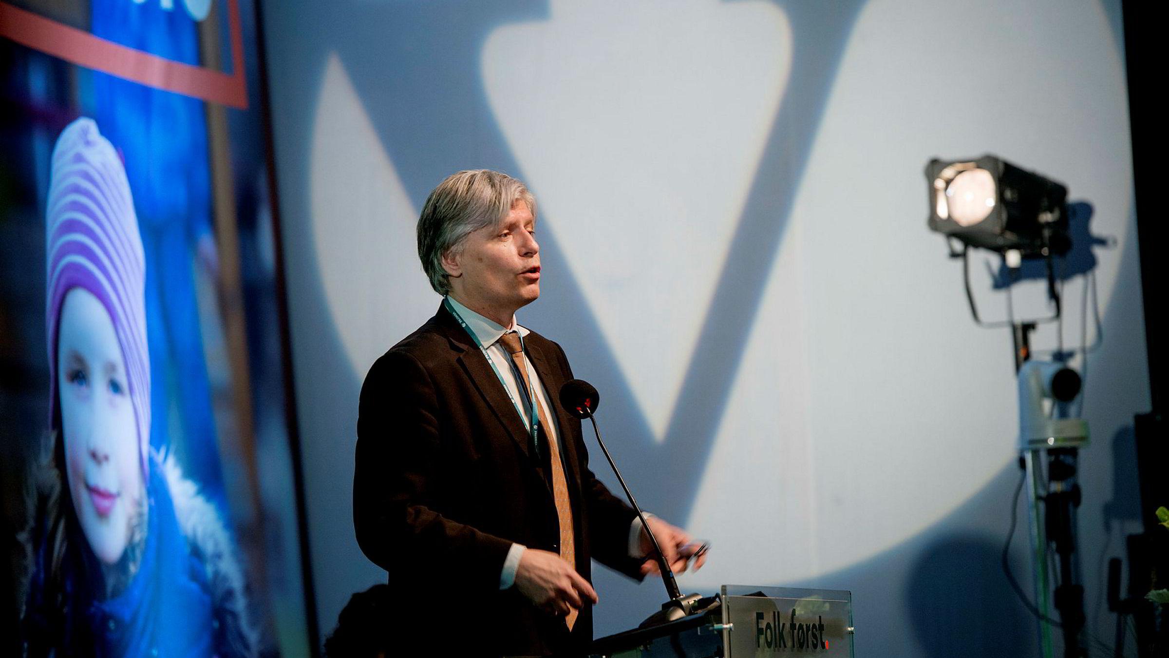 Ola Elvestuen. Venstre Landsmøte
