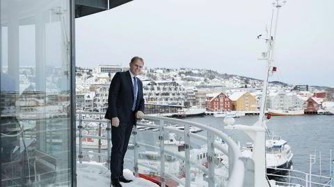 – Det er klart at dette er helt eventyrlig, sier hotelldirektør Poul-Henrik Remmer på Scandic Ishavshotell i Tromsø.