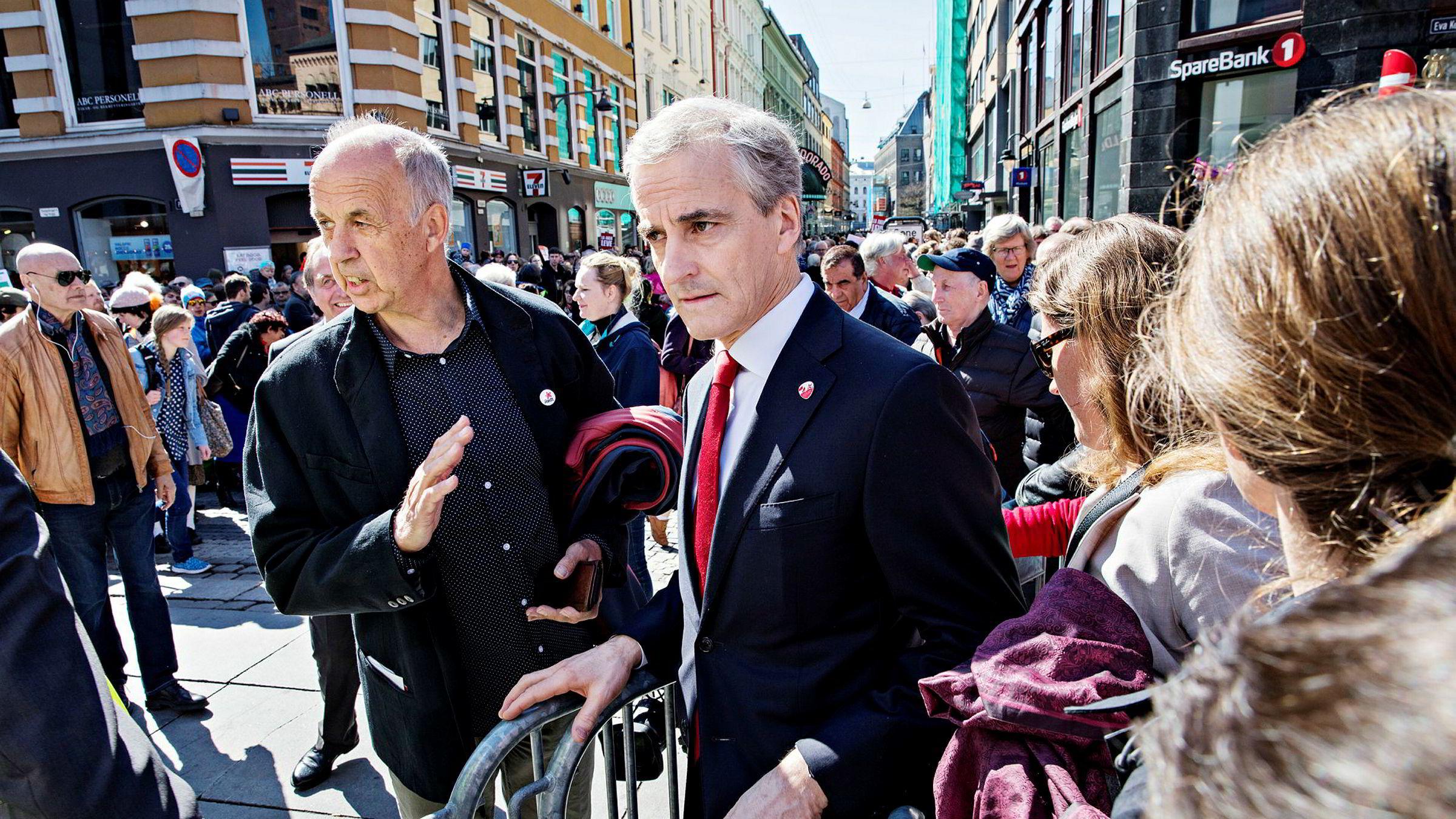 Ap-leder Jonas Gahr Støre forteller at velgerne er bekymret for økte forskjeller. Men vet de at de bor i verdens likeste land?