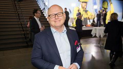 Administrerende direktør Baard Schumann i Selvaag Bolig.