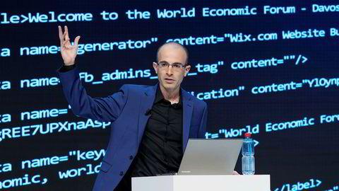 Historieprofessor Yuval Noah Harari satte en støkk i forsamlingen på World Economic Forum i Davos der han snakket om det digitale diktatur.