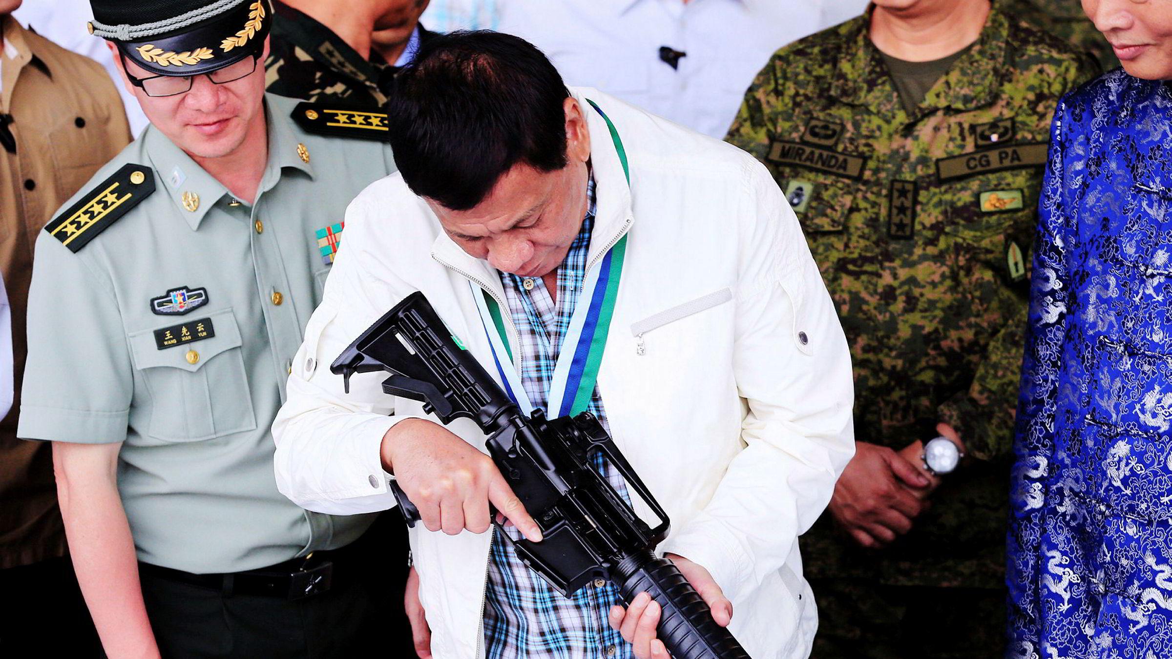 Fillippinnenes president Rodrigo Duterte har stor innflytelse i hjemlandet. Denne gangen tok seieren på forskudd.