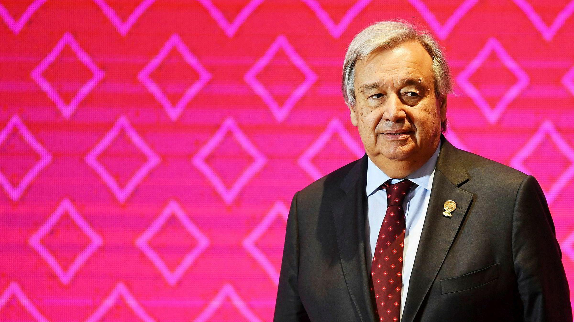 FNs generalsekretær António Guterres sier at IPIs styre nå tar grep.