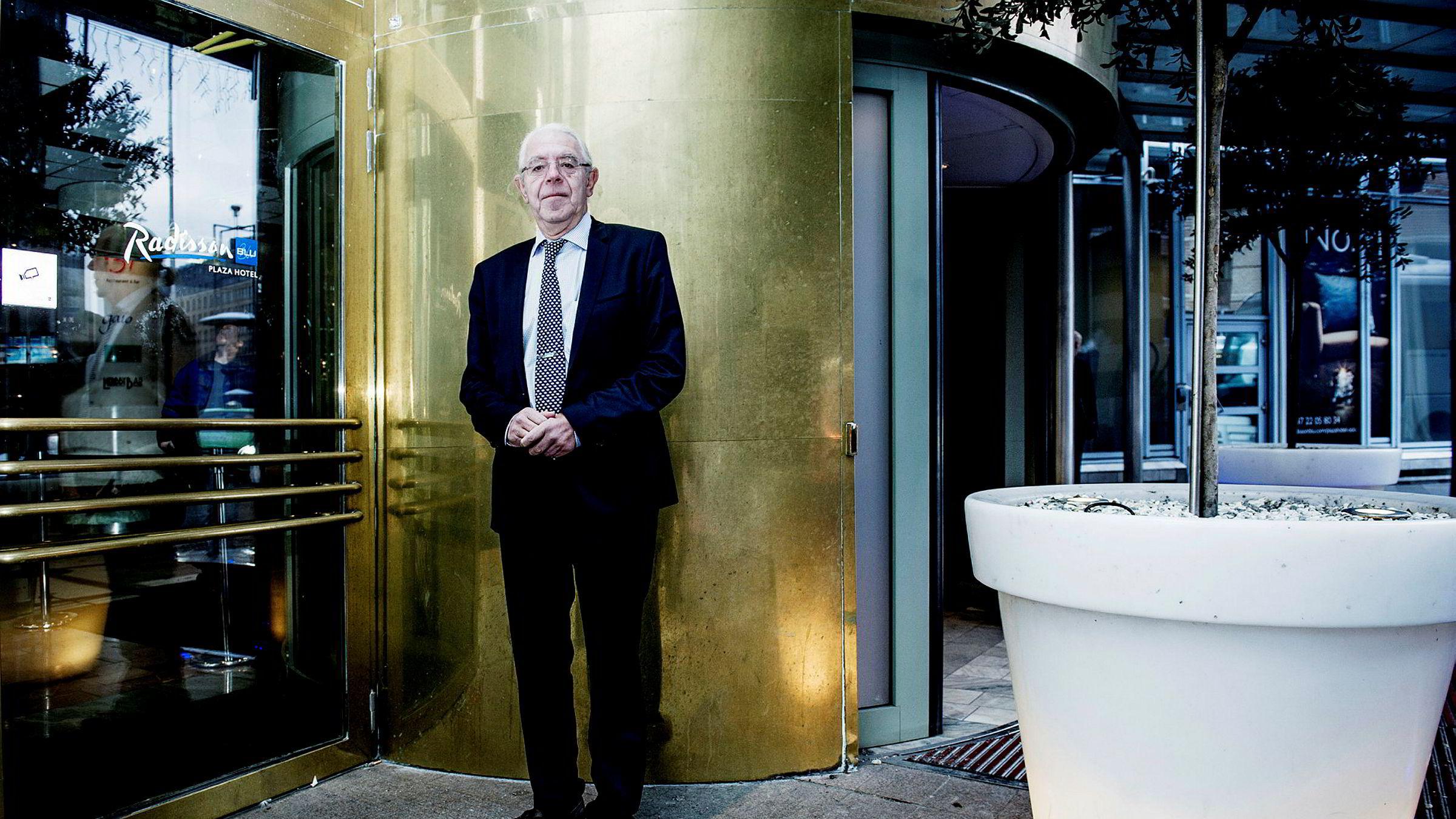 – Samsung har kontroll på det de holder på med, selv om styreformenn går inn og ut av fengsel, sa Skagen-gründer Kristoffer Stensrud under et jubileumsmøte i Skagen Global i september.